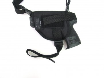 Horizontal Shoulder Holster with Discreet Harness