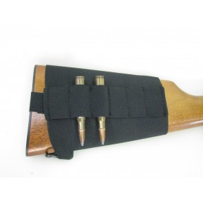 Elastic Buttstock Rifle Cartridge Holder