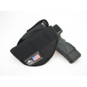 Ambidextrous Belt Holster with Magazine Pouch