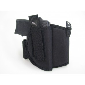 Ankle holster comes with a thumb break to secure handgun