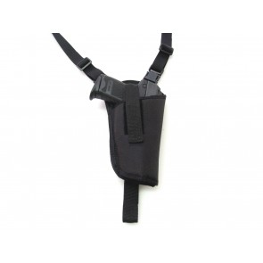 Vertical Shoulder Holster with Discreet Harness